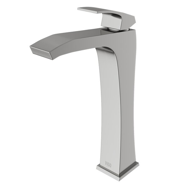 Blackstonian Single Hole Bathroom Faucet with Optional Drain Assembly by VIGO