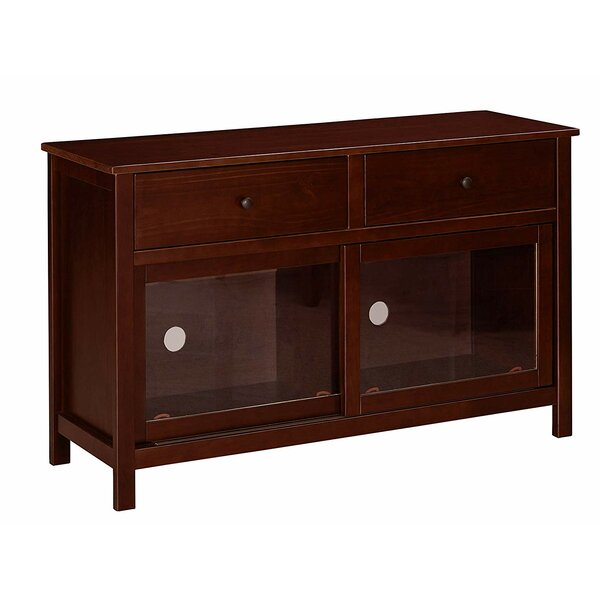 Wollongong Solid Wood Entertainment Center For TVs Up To 58