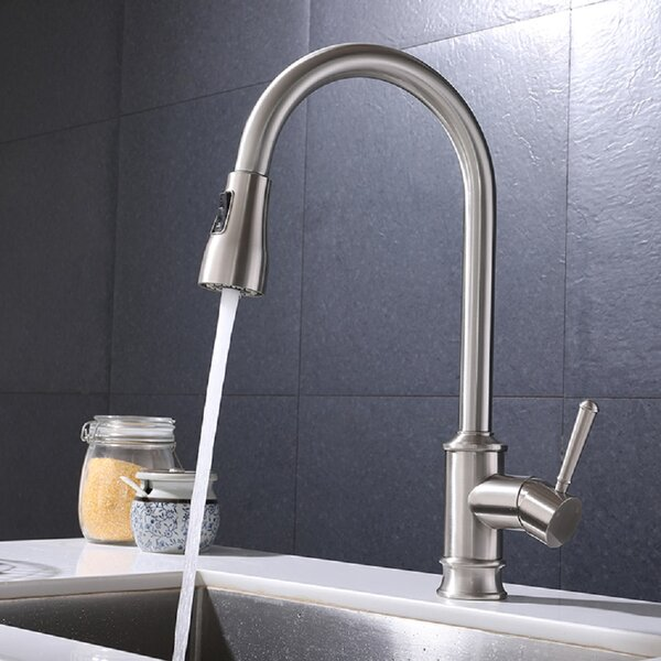 Pull Down Single Handle Kitchen Faucet By MODLAND