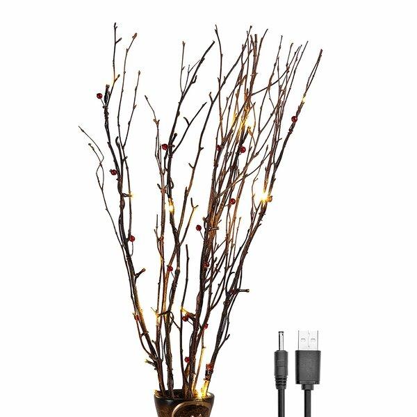 lighted birch branches wayfair