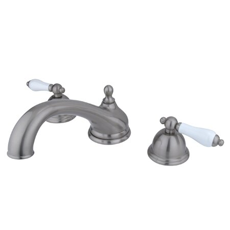 Vintage Double Handle Tub Faucet by Kingston Brass