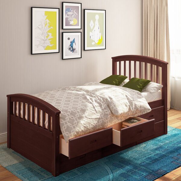 Lowndesboro Twin Platform Bed with Drawers by Harriet Bee