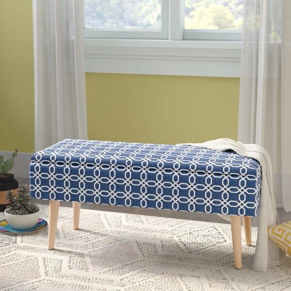Valdez Upholstered Storage Bench by George Oliver