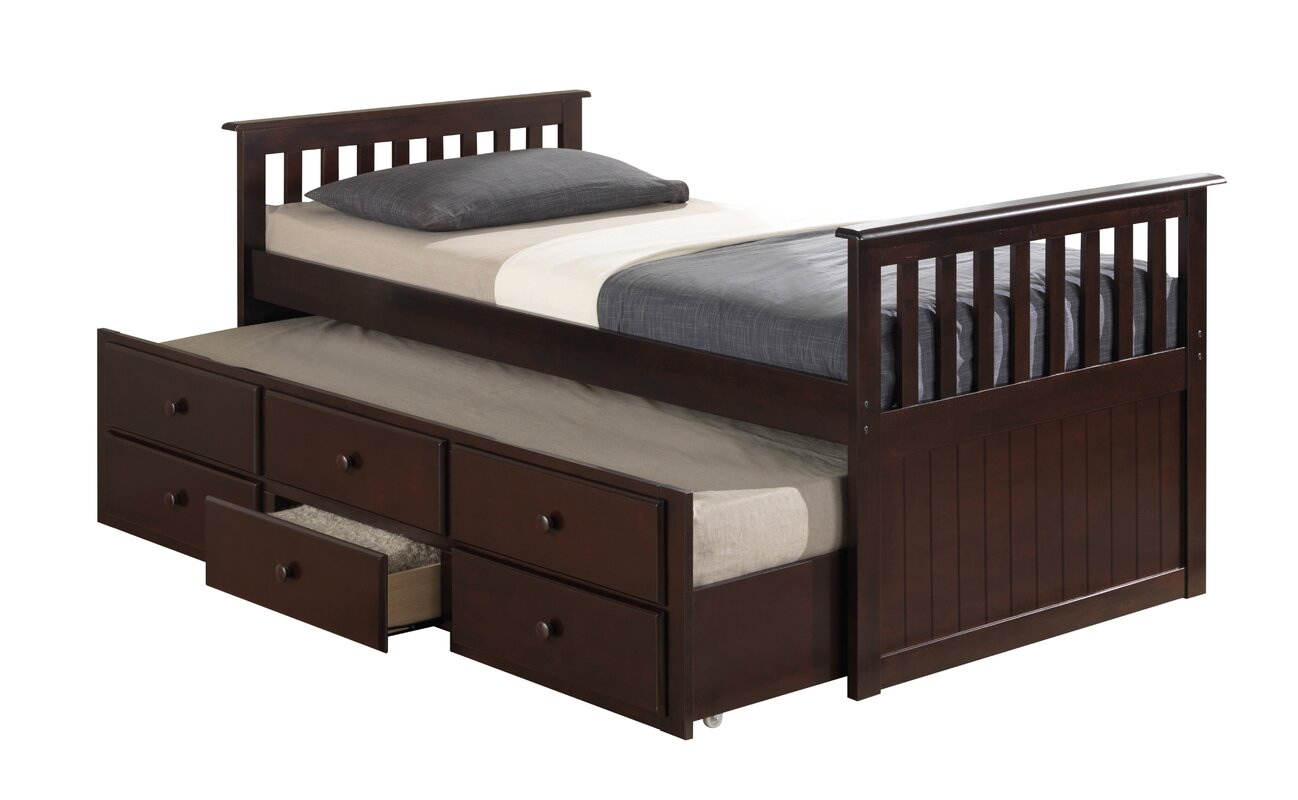 Bedroom Furniture Styles Broyhill Kids Marco Island Captain S Bed With Trundle Bed