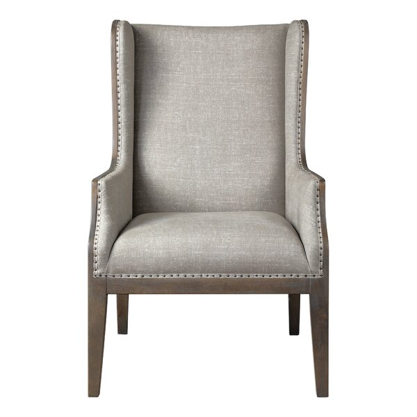 Ormond Wingback Chair by Gracie Oaks