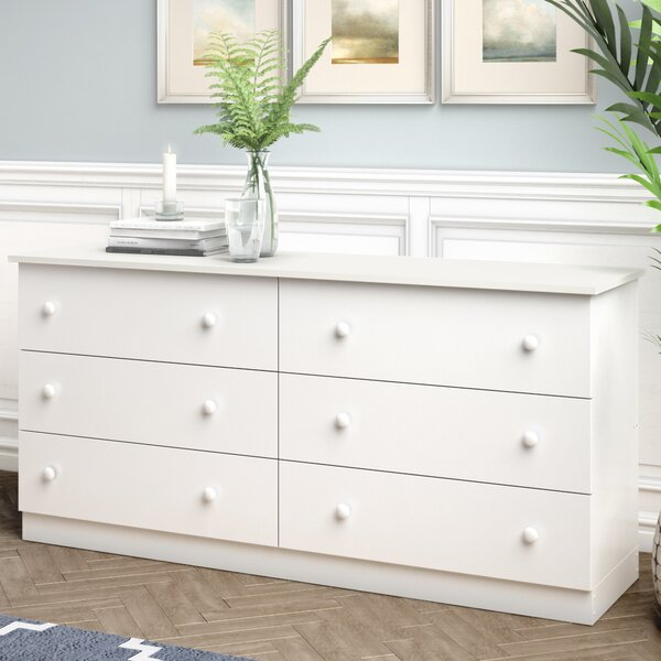 Kittleson 6 Drawer Double Dresser by Ebern Designs