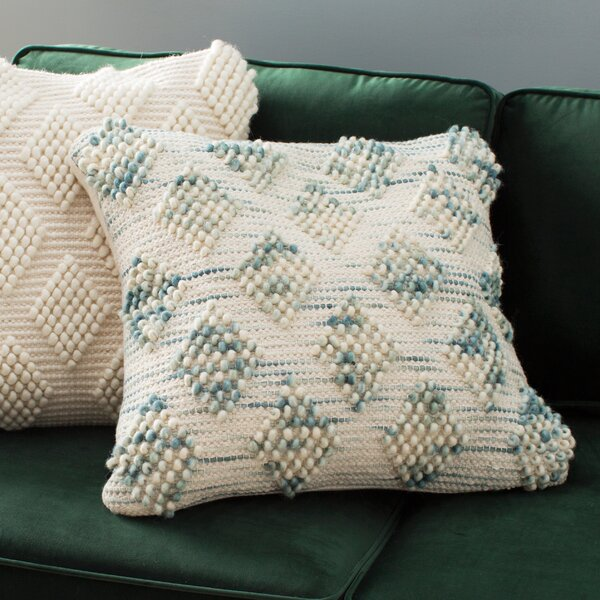 Katelin Space Dyed Throw Pillow by Mistana