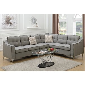 Juno Linen-like Sectional by Mercer41