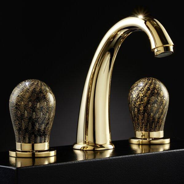 Murano Dela 3 Hole Luxury Widespread Bathroom Faucet by Maestro Bath Maestro Bath