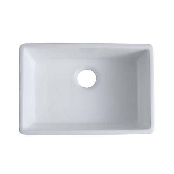 Ceramic 30 L x 20 W Undermount Kitchen Sink