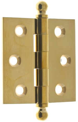 2.5 H x 2.5 W Butt/Ball Bearing Pair Door Hinge (Set of 2) by idh by St. Simons