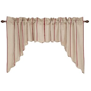 Boucher Scalloped Swag Curtain Valance (Set Of 2) Part 41