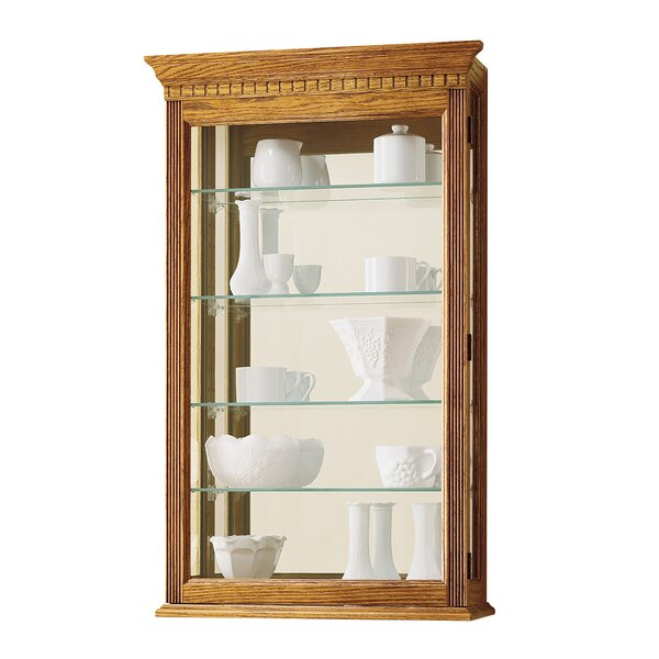 Carmelita Wall-Mounted Curio Cabinet by Alcott Hill