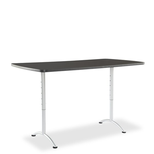 Curved End Conference Table by Symple Stuff