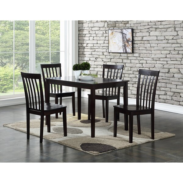 Ralls 5 Piece Dining Set by Gracie Oaks