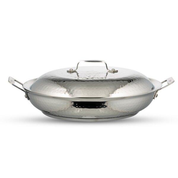 Cucina Round Braiser with Lid by Bon Chef
