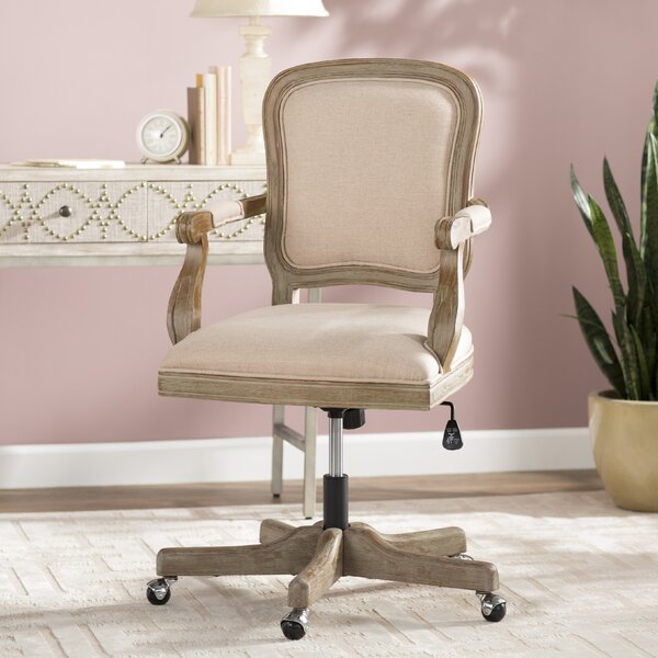 Akron High-Back Desk Chair by Ophelia & Co.
