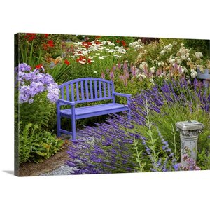 'Garden Bliss' by Nancy Crowell Photographic Print on Wrapped Canvas by Great Big Canvas