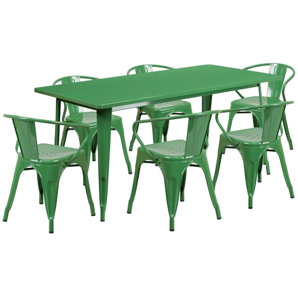 Fuad 7 Piece Dining Set by 17 Stories