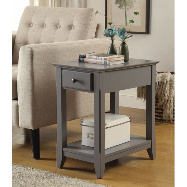 Krohn End Table with Storage by Alcott Hill