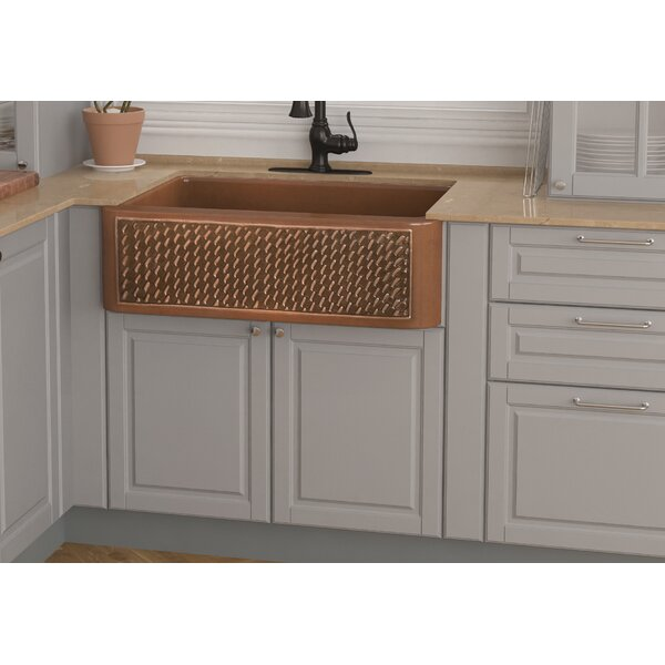 Indulgence 30 x 22 Farmhouse Kitchen Sink with Basket Strainer and Basin Grid by ANZZI