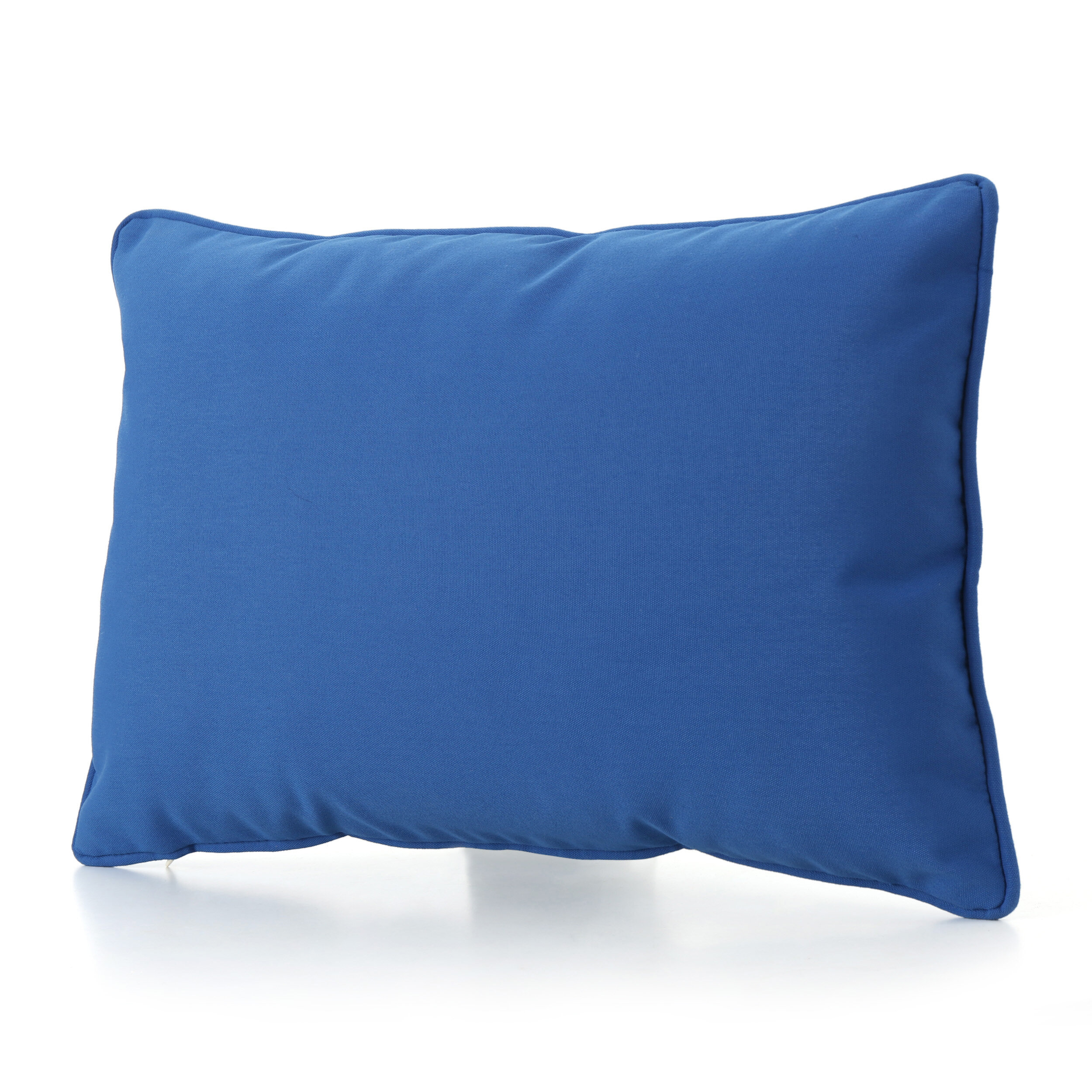 The Pillow Collection Oisin Solid Bedding Sham Dark Blue Standard//20 x 26,