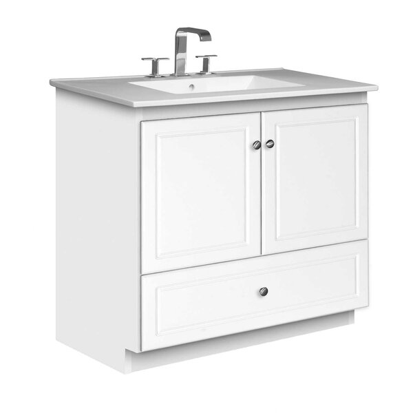 Simplicity 37 Single Bathroom Vanity Set by Strasser Woodenworks