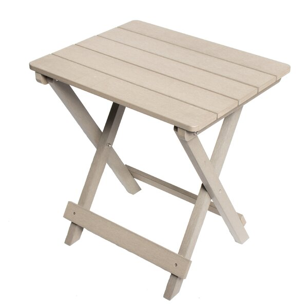 Tiffany Composite Wooden Bistro Table by Millwood Pines