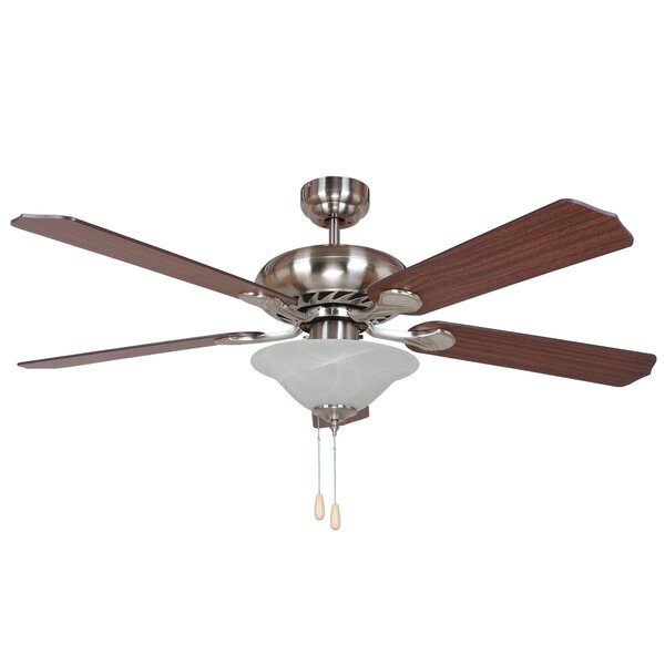 52 Easterbrooks 5-Blade Ceiling Fan by Charlton Home
