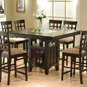 Landgraf Counter Height Dining Table by Millwood Pines