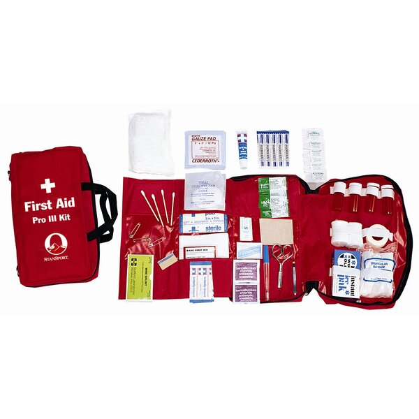 Pro III First Aid Kit by Stansport
