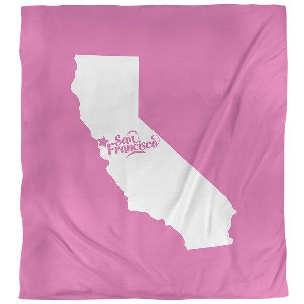 San Francisco California Duvet Cover
