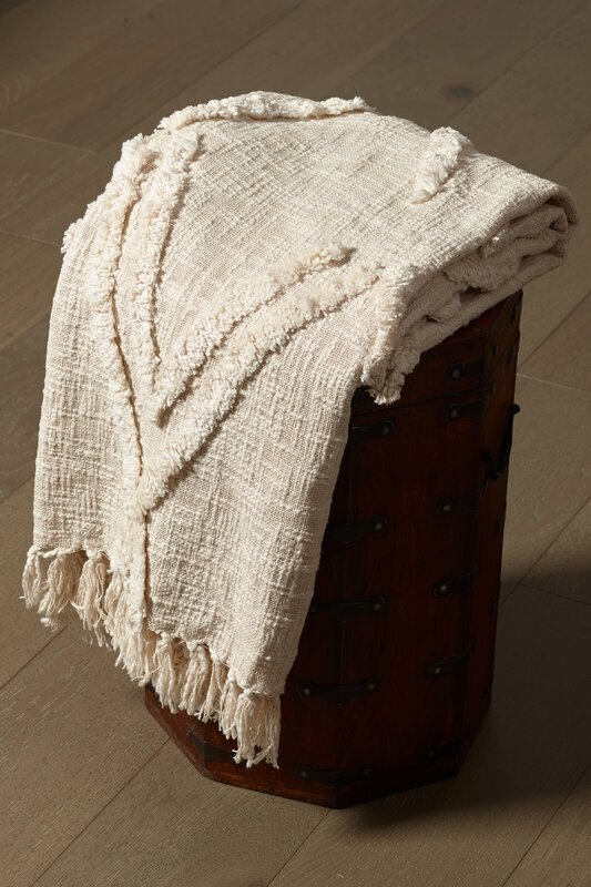 Ava Scandinavian Cotton Throw