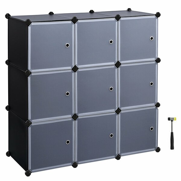 Evanoff 3-Tier Storage Organizer Cube Unit Bookcase by Rebrilliant