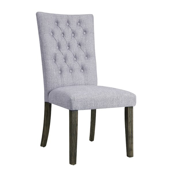 Lacluta Side Upholstered Dining Chair (Set of 2) by Ophelia & Co.
