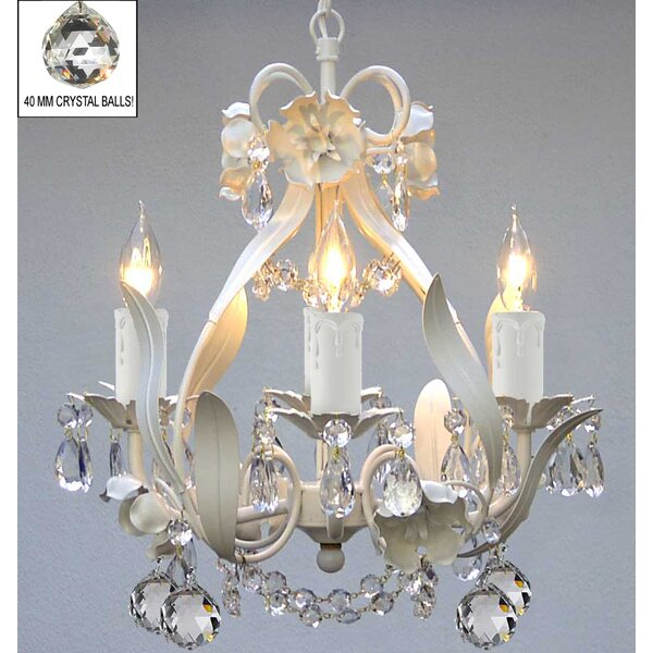 Tobias 4-Light Candle Style Chandelier by Viv + Rae