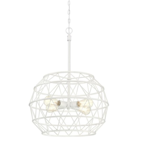Mascolo 4 - Light Unique / Statement Globe Chandelier by Ivy Bronx Ivy Bronx