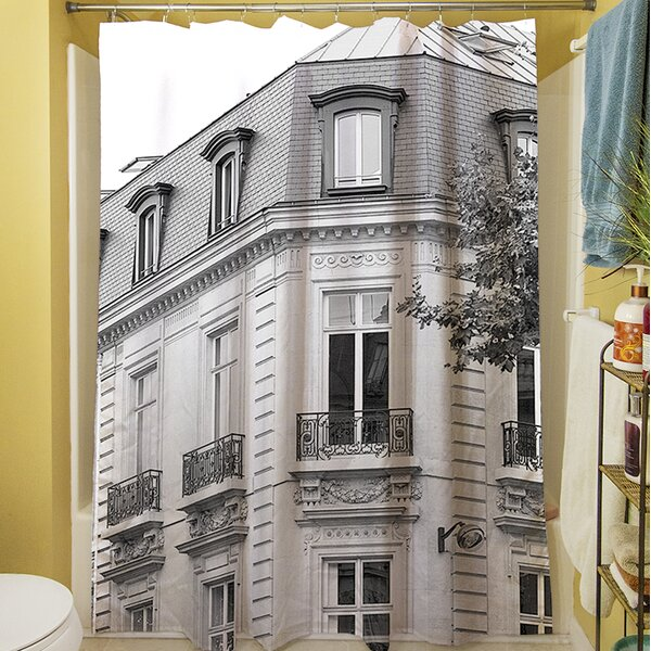 A Travers Paris II Shower Curtain by Manual Woodworkers & Weavers