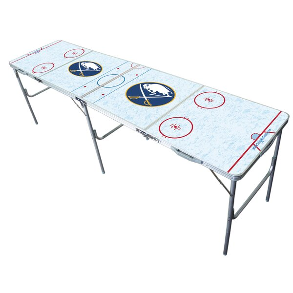 NHL 96 Rectangular Folding Table by Tailgate Toss