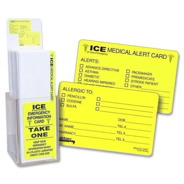 Emergency Information Card Display by Tabbies