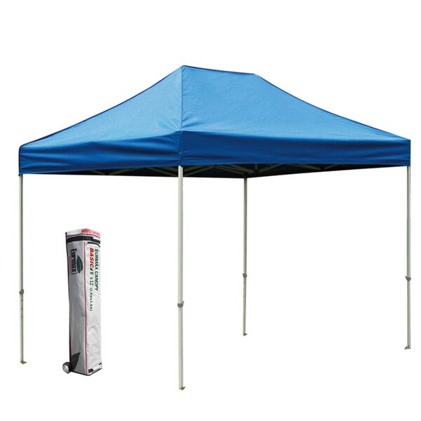 Commercial 8 Ft. W x 12 Ft. D Steel Pop-Up Canopy