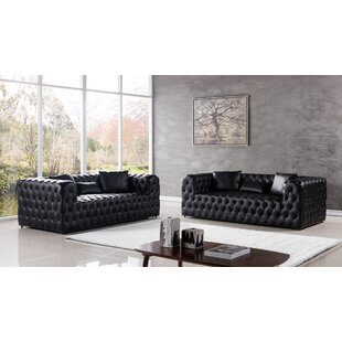 Foti 2 Piece Living Room Set by Mercer41