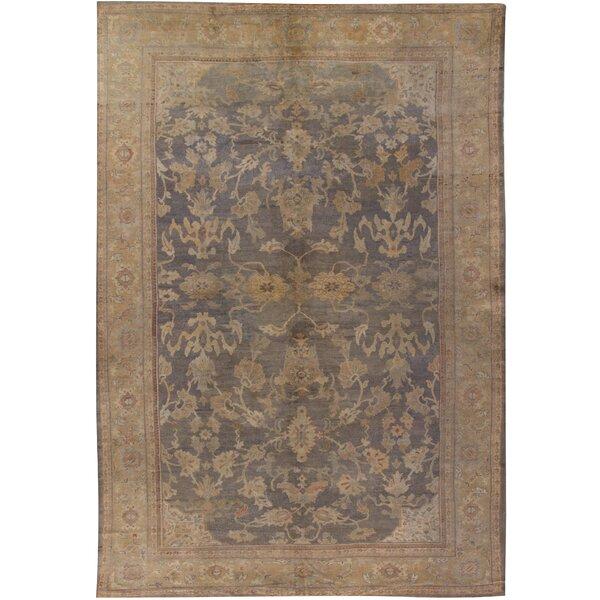 Antique Sultanabad Rug Carpet, circa 1890 11' x 16'3