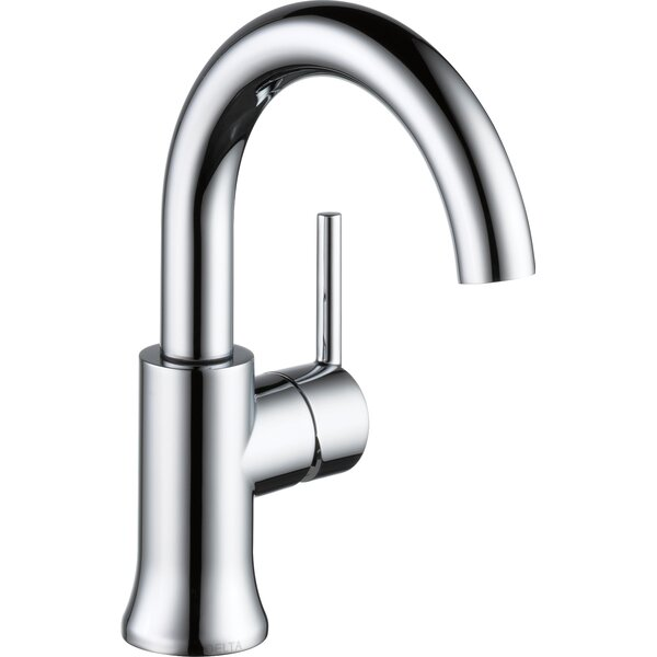 Trinsic® Bathroom Single hole Bathroom Faucet with Drain Assembly and Diamond Seal Technology by Delta