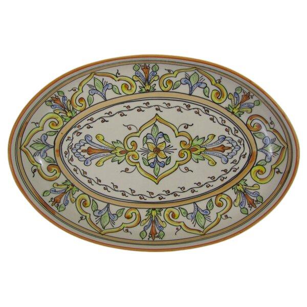 Salvena Stoneware Poultry Platter by Le Souk Ceramique