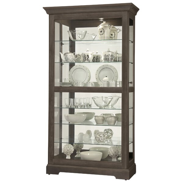 Brame Lighted Curio Cabinet by Darby Home Co