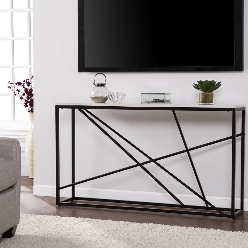skinny console table. Reaves Skinny Console Table C