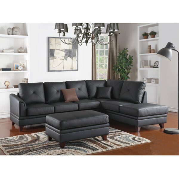 Torbert 3 Piece Leather Living Room Set by Latitude Run