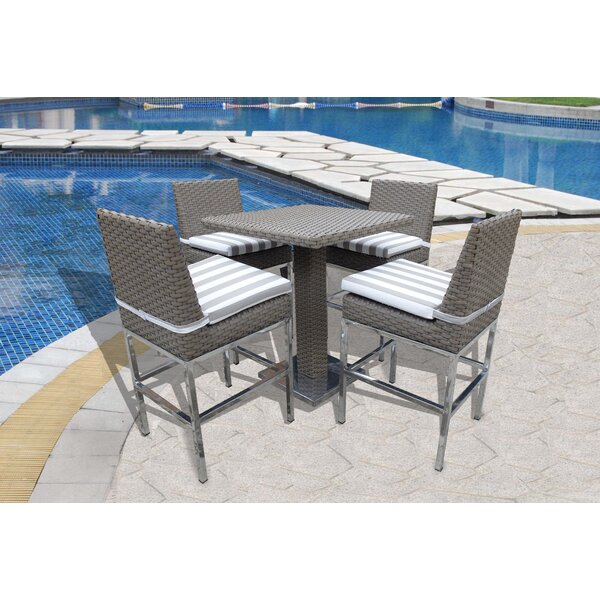 Leonore 5 Piece Pub Table Set by Orren Ellis
