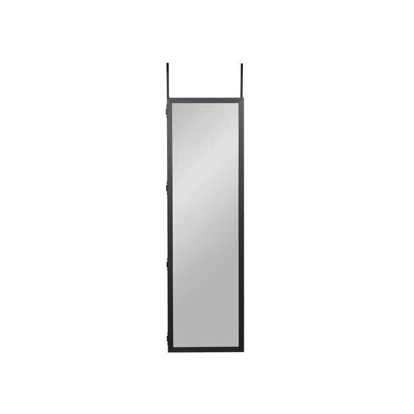 Beseris Over The Door Jewelry Armoire with Mirror by Red Barrel Studio